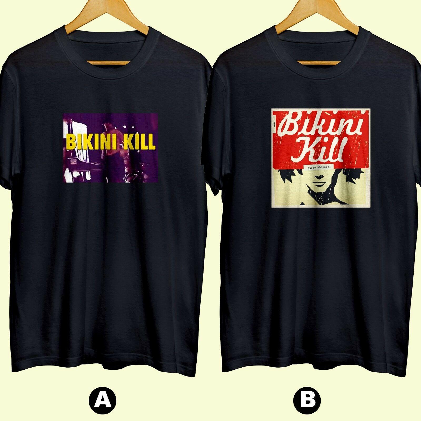 Bikini Kill Band American Punk Rock Camiseta de algodón a estrenar