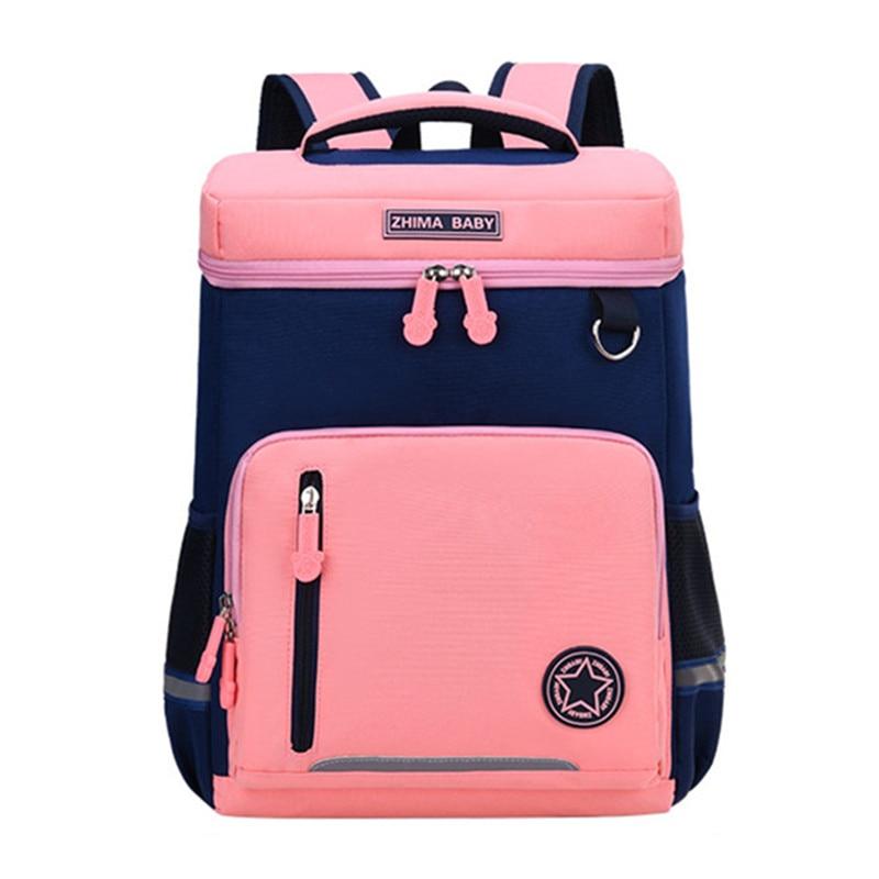 Водонепроницаемый детский школьные ранцы для мальчиков для девочек, ортопедический Школьный Рюкзак Для учебников, школьные ранцы