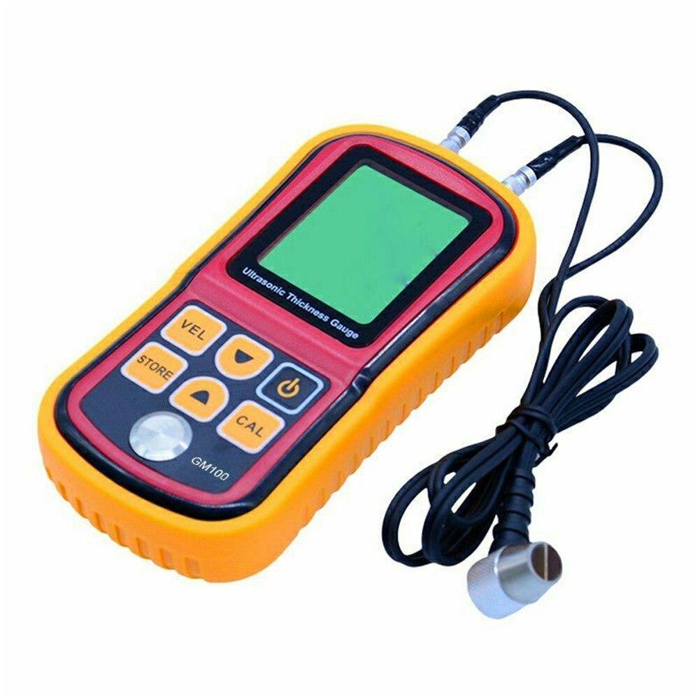 Medidor de velocidad ultrasónico medidor de espesor Detector pantalla LCD electrónica portátil instrumentos de mano para el hogar