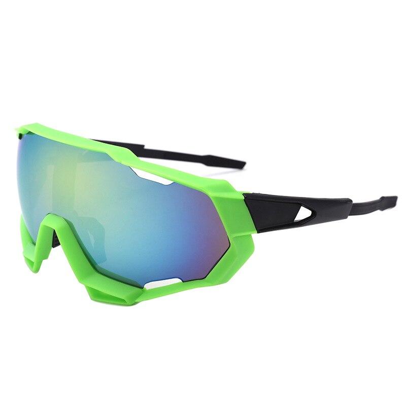 Outdoor Sports Sunglasses Frame Men Fashion Big Frame Gafas Windproof Oculos Retro Coating Galsses S