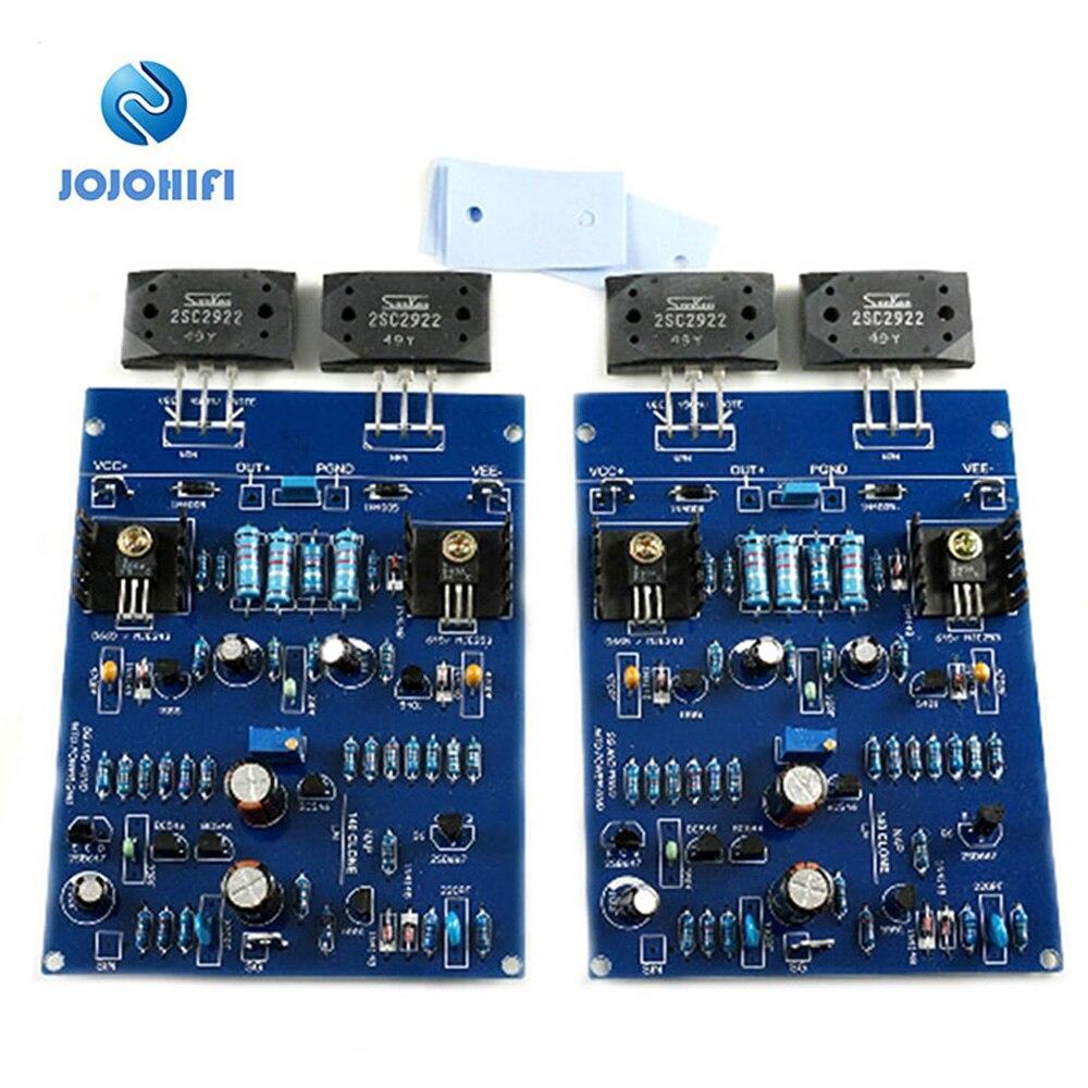 One Pair (2 Boards)NAIM NAP140 80W 8R CLONE Dual 80W 8R 2SC3858 AMP Amplifier Assembled Board diy hi fi 6n3 tube pre amplifier tda7294 amplifier board kit 80w 80w