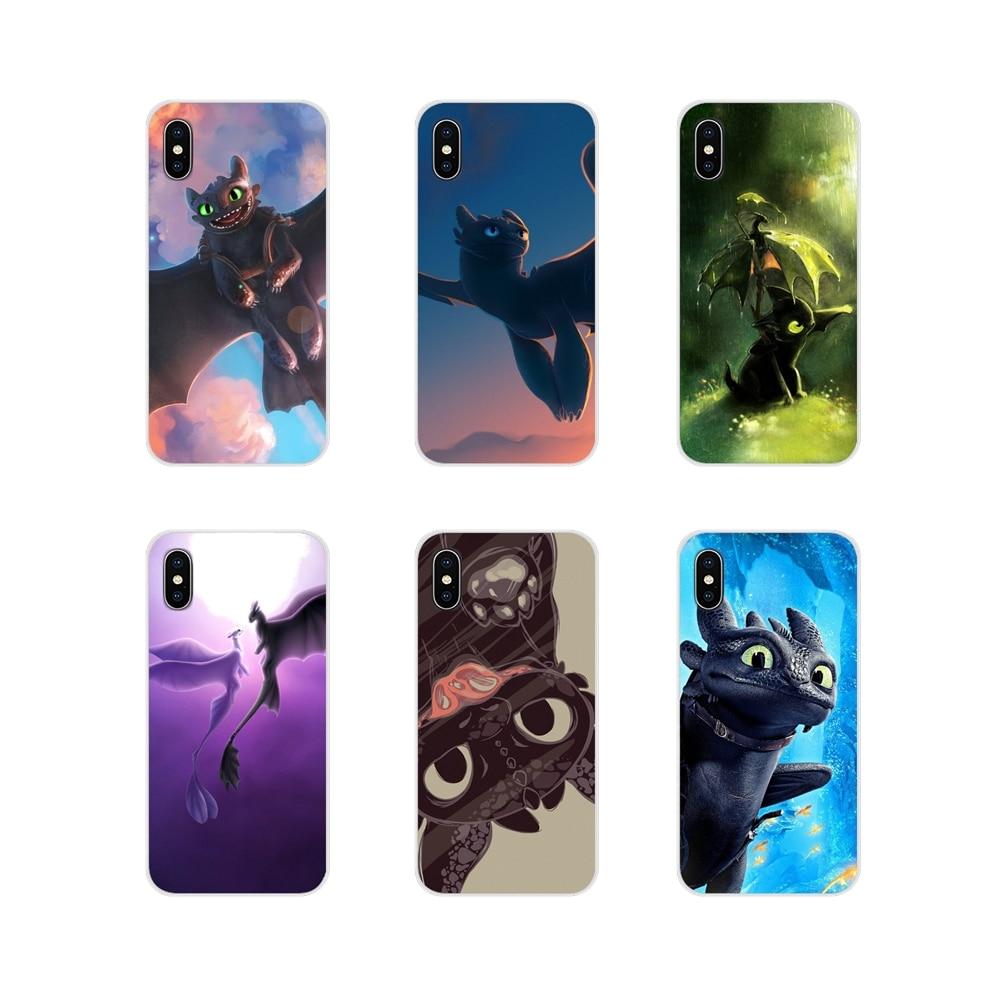 Entrena a tu dragón sin dientes para Xiaomi Redmi 4A S2 Note 3 3S 4 4X 5 Plus 6 7 6A Pro pocofone F1 accesorios fundas para teléfono