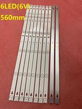 جديد 10 قطعة LED شريط إضاءة خلفي ل طومسون 32HB5426 TCL L32S4900 32L2800 L32P1A 4C-LB3206-HR03J HR01J TOT_32D2900 32HR330M06A5 V5