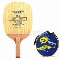 yinhe 985 table tennis blade 5 ply wood fast attack japanese penhold racket js handle original yinhe ping pong bat paddle