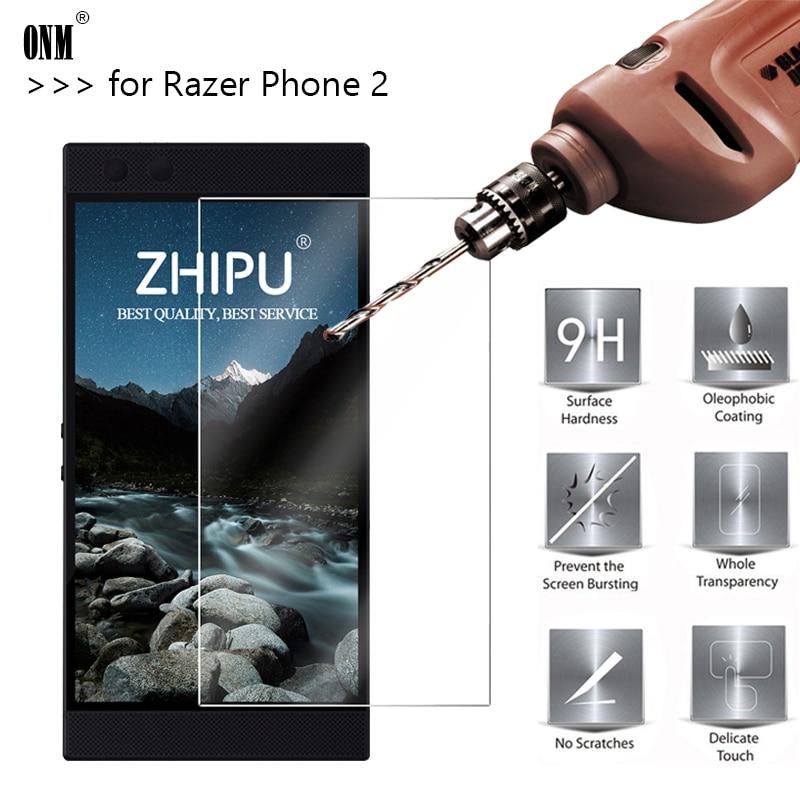 2,5 D 0,26mm 9H Premium Gehärtetem Glas Für Razer Telefon 2 Screen Protector einscheiben-schutzfolie Für Razer telefon 2 5,72