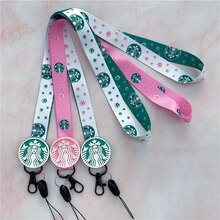 Correas de teléfono móvil de color verde y rosa, cordón colgante de múltiples funciones para colgar en el cuello, cordón largo para llaves de iPhone, cordón de cámara de teléfono móvil USB