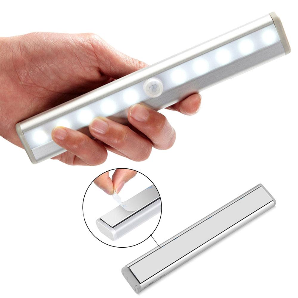 20 см Беспроводной светодиодный Ночной светильник движения Сенсор светильник шкаф ночника для Кухня Спальня шкафа лестницы Подсветка свети...