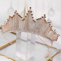 bride tiara crystal headdress wedding hair accessories indian jewelry headband wedding tiaras and crowns for women head bands