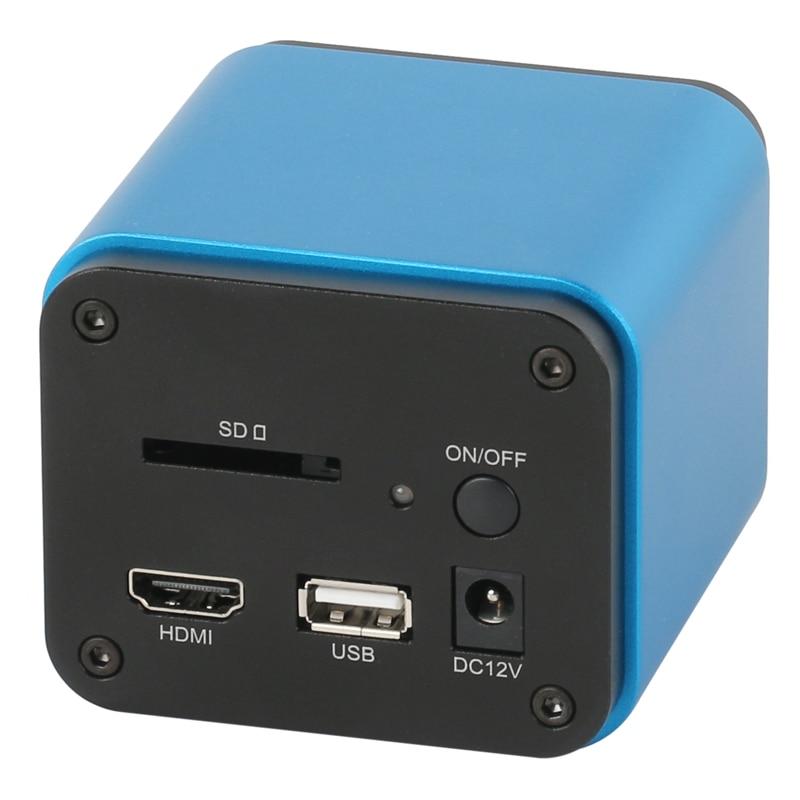 التركيز التلقائي 1080P 60FPS مستشعر سوني IMX185 HDMI واي فاي صناعة الفيديو التركيز التلقائي المجهر كاميرا C جبل لإصلاح PCB مصلحة الارصاد الجوية SMT
