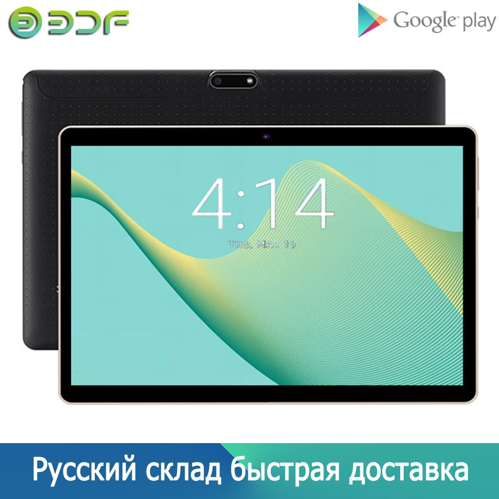 New 10 Inch Tablet Pc Android 7.0 Google Market WiFi Bluetooth GPS Tablets Quad Core Dual SIM Cards 3G Phone 10.1