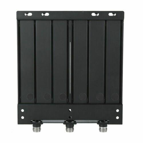 50W UHF 6 cavidades duplexor N Conector tune gratis radio repetir 380-520Mhz