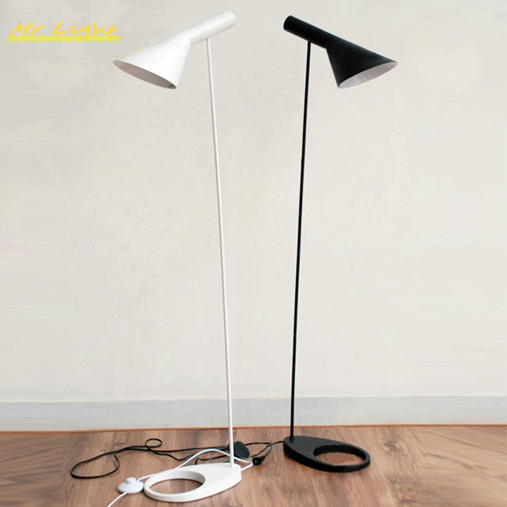 Nórdicos AJ iluminación de lámpara de piso de la habitación dormitorio decoración de luces de LED luces de suelo interior accesorios de luz Luminaria