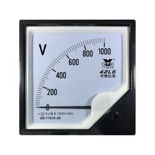 42l6 Medium Frequenz Voltmeter AC 100 0/1400/1500/2000/3000V/4000V/100V HZ1kc