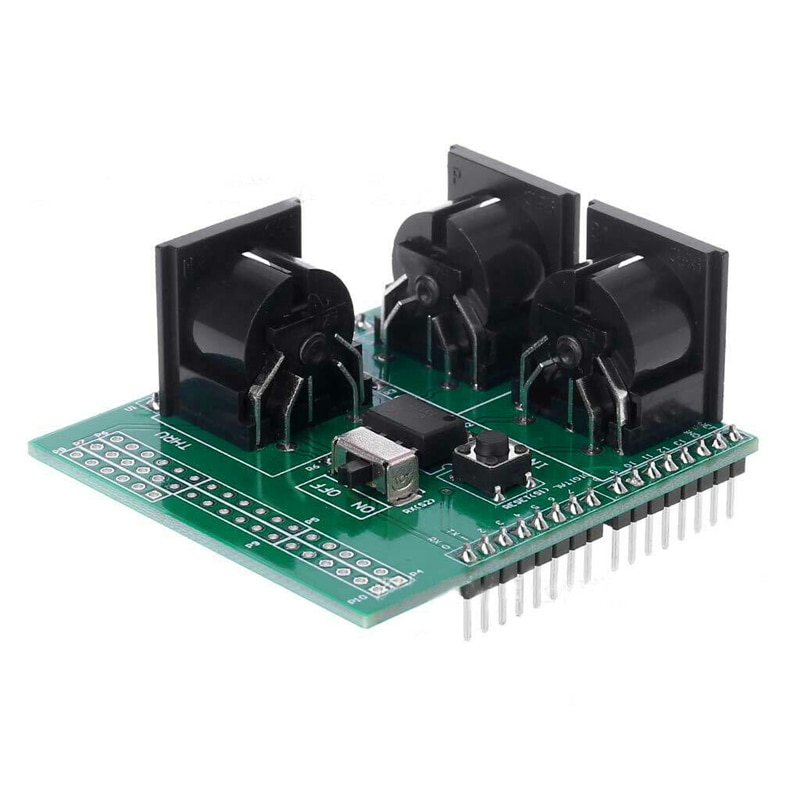 Placa adaptadora de interfaz Digital de instrumento de tablero de ruptura Musical de escudo MIDI superior para Módulo de placa adaptadora Compatible Arduino