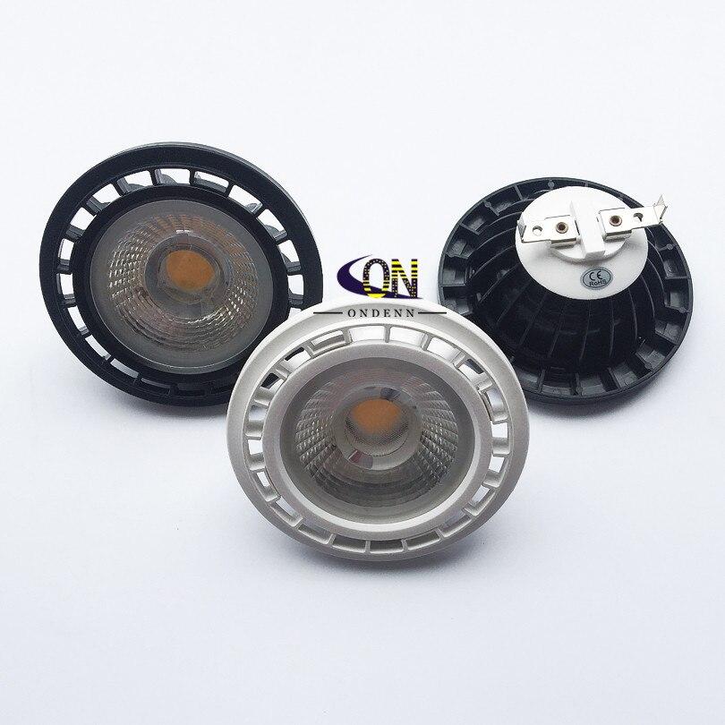 1 stücke AR111 Led-strahler 15W COB LED Licht Dimmbar G53 GU10 DC12V AC110V AC220V QR111 Led-lampe Lampe lichter Innen Decke Lampen