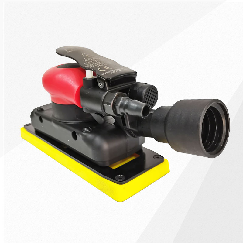 70*198mm Pneumatic Air Sander Polisher Tool Polishing Random Orbital Palm Machine Grinder for Car Paint Care Rust Removal