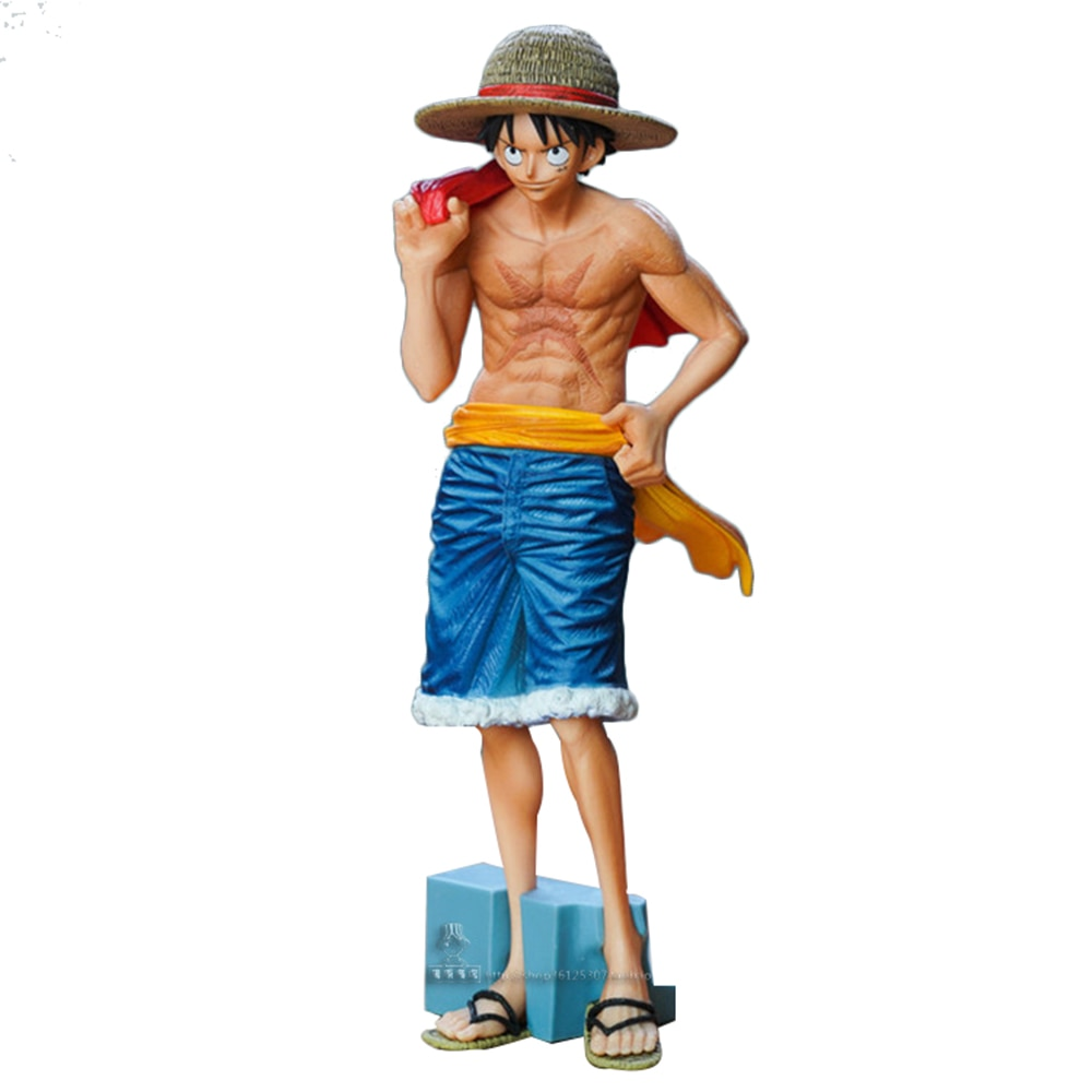 Figura de acción de One Piece, modelo de figura de acción de One Piece vol. 2, mono desnudo, D Luffy, colección de estatua de PVC, juguete para decoración de escritorio
