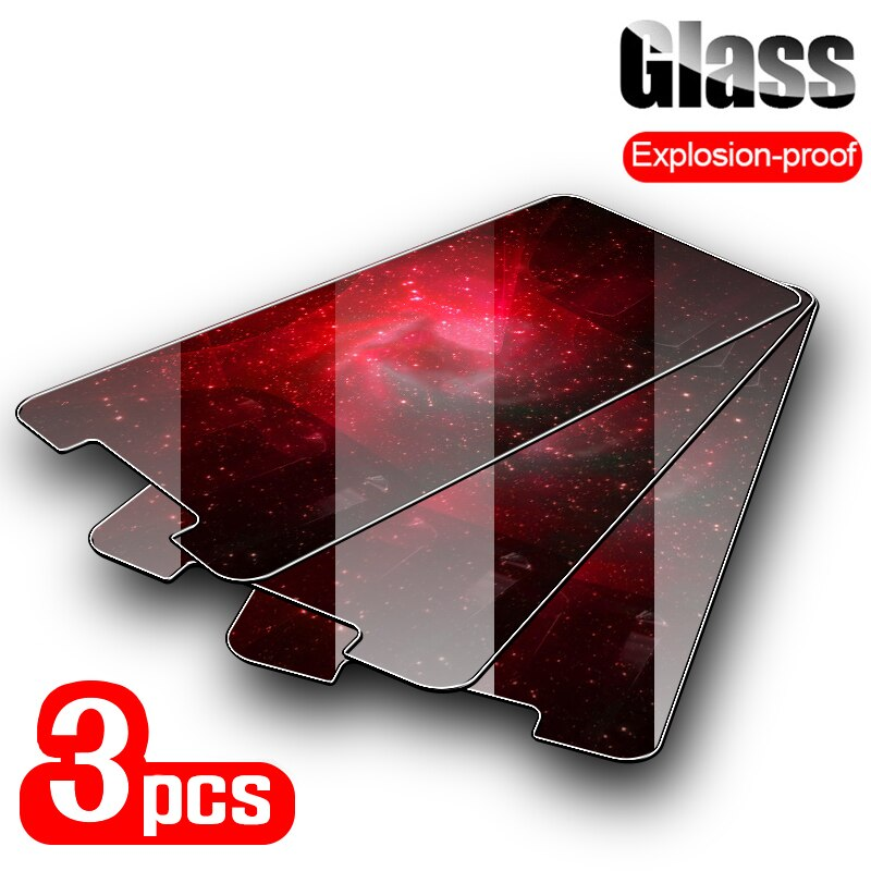 3PCS Tempered Glass For Doogee Y9 Y8 Plus Y6 Glass Screen Protector For Doogee X9 X5 X90 X60L X6 X55 X53 X50 Glass Front Film