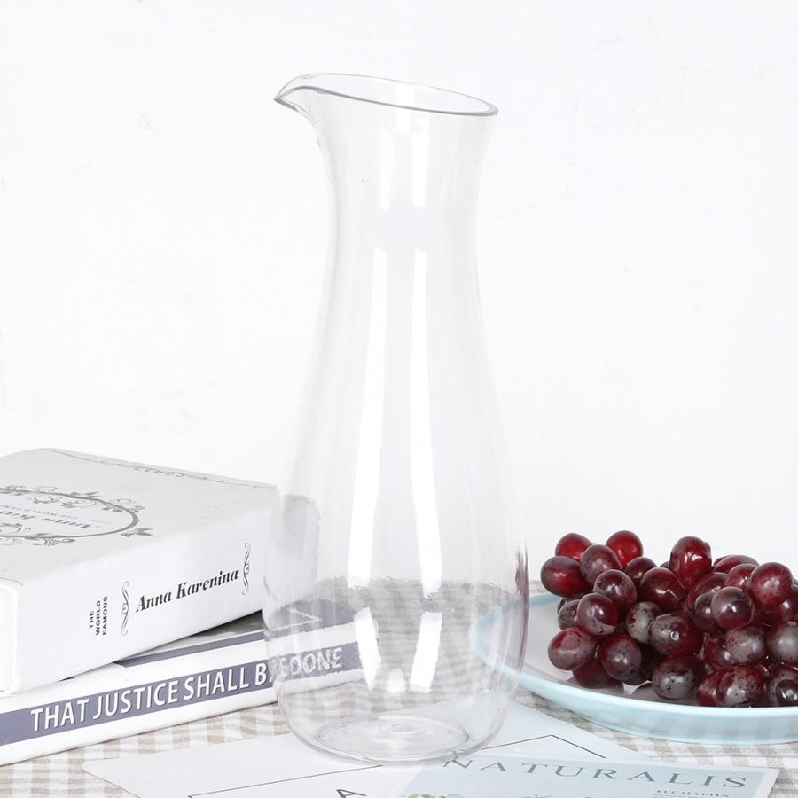 Acrylic Transparent Juice Bottle Water Jug Wine Beverage Container Kettle Carafe for Bar Home Water Kettle Lemonade Bottle