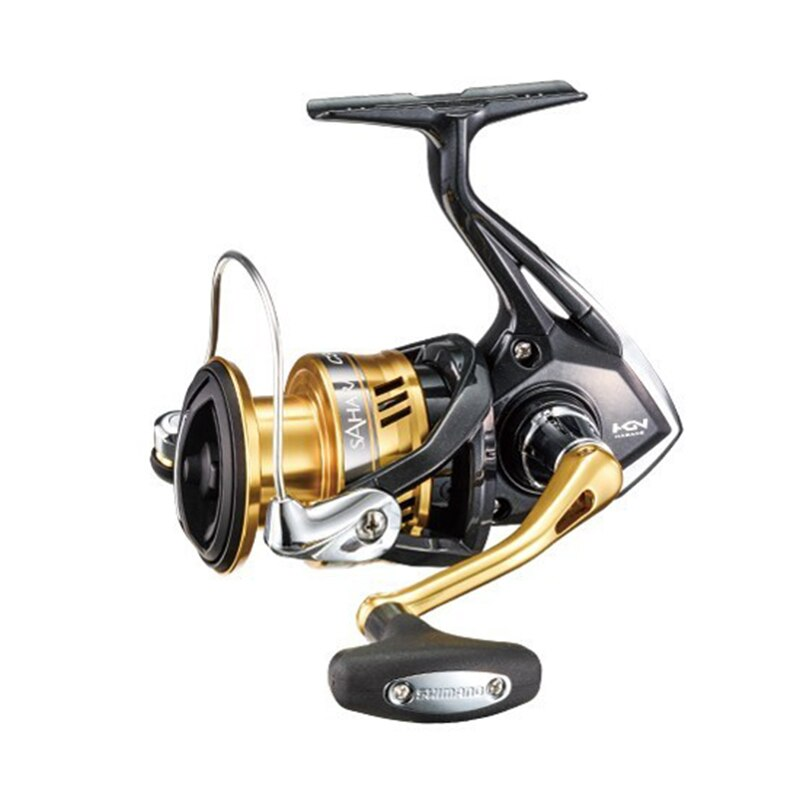 SHIMANO Reel SAHARA Spinning Fishing Reel 4+1BB 5.0:1/6.2:1 Ratio Metal Spool Saltewater Fishing Reels enlarge