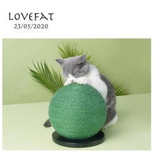 Oasis bola gato scratcher brinquedo de papel ondulado gatos scratch board moagem unhas interativo proteger móveis gatinho almofada resto