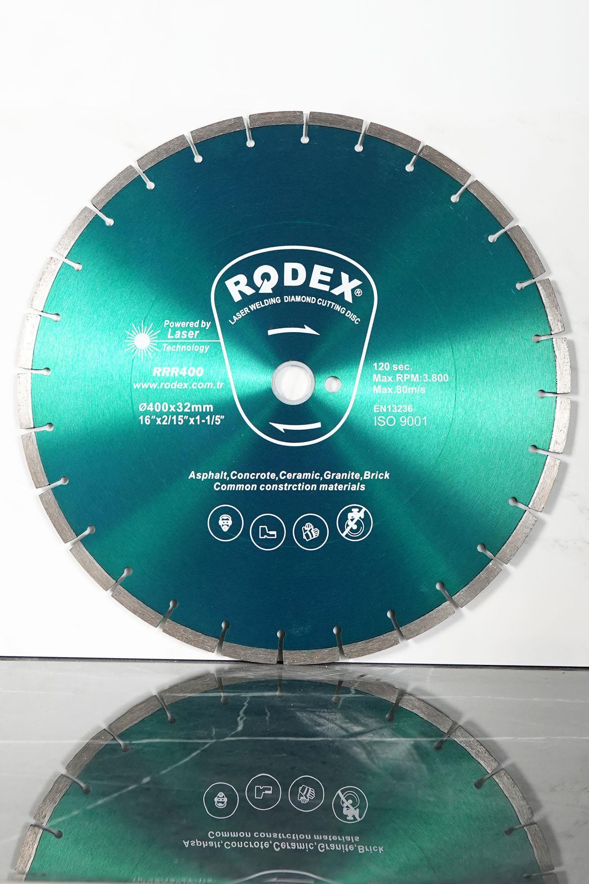 Rodex RRR400 Laser Diamond Cutting Disc Asphalt, Concrete 400mm