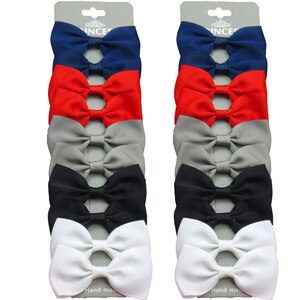 20PCS/Lot Lovely Dark Color Hairpins Grosgrain Ribbon Bows Clips 2020 Korean Creativity Hair Accessories For Baby Girls NEW