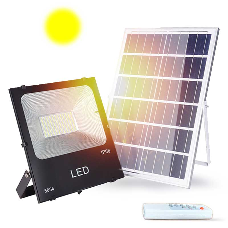Foco-مصباح كشاف led يعمل بالطاقة الشمسية مع مستشعر حركة ، إضاءة خارجية ، إضاءة طبيعية ، مصباح بناء ، 20 واط ، 30 واط ، 50 واط ، 100 واط ، 150 واط