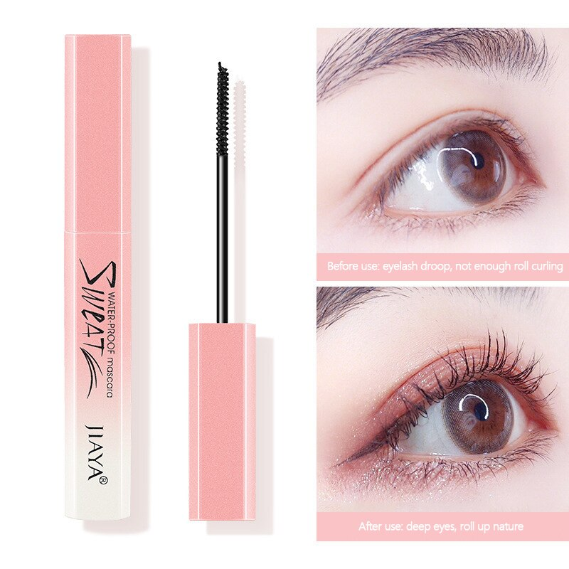 Eyelash Mascara 4D Waterproof Full Professional Makeup Long Curling Thick Eyelash Natural Extend Eye