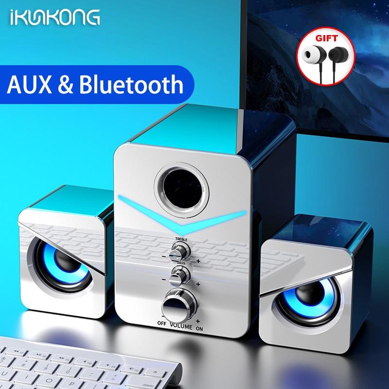 Sistema de cine en casa para PC, Subwoofer de graves, Bluetooth, Altavoces...