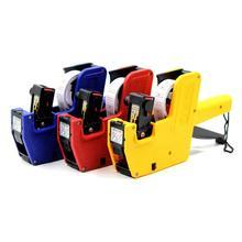 MX-5500 Tag Gun Garment Prijs Label Tagging Kleding Tag Gun 1 Lijn 8 Cijfers EOS Prijs met 500 Witte Etiketten 1 inkt Willekeurige Kleur