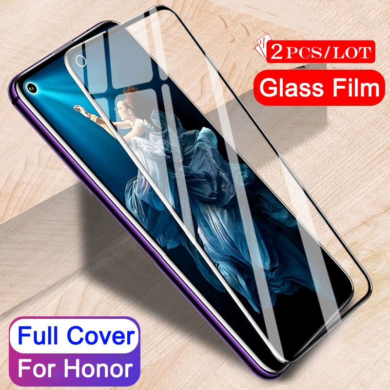2Pcs Tempered Glass for Huawei Honor 20 Pro Protective Glass Screen Protector for Huawei Honor 20 Ho