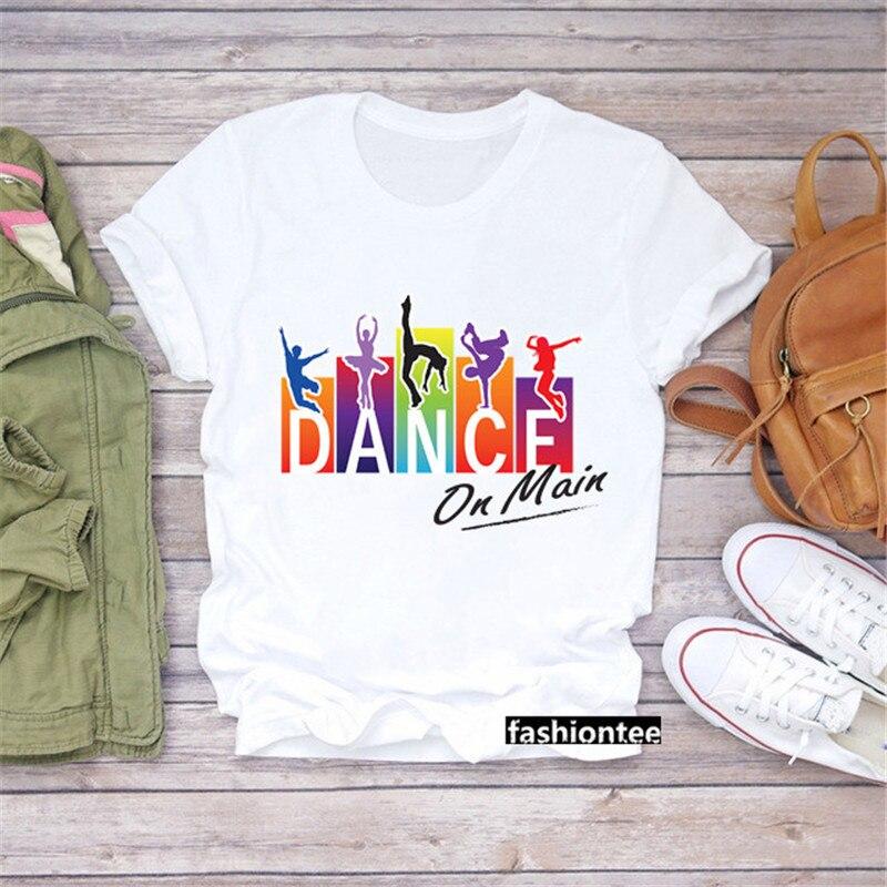 Camiseta de Zumba para mujer, Camiseta deportiva para gimnaso, camiseta de hip...