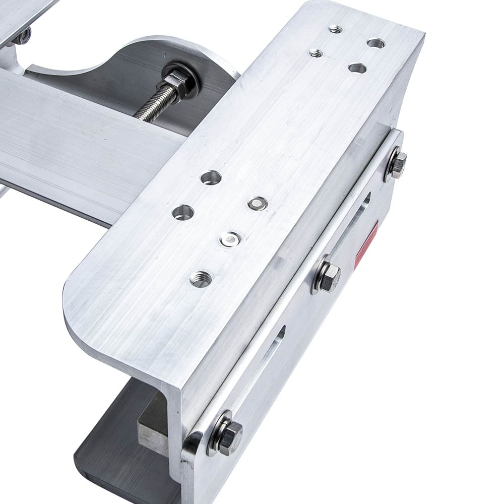 1x Replacement Aluminum Adjustable 6'' Setback Outboard Boat Jack Plate Dropshipping enlarge