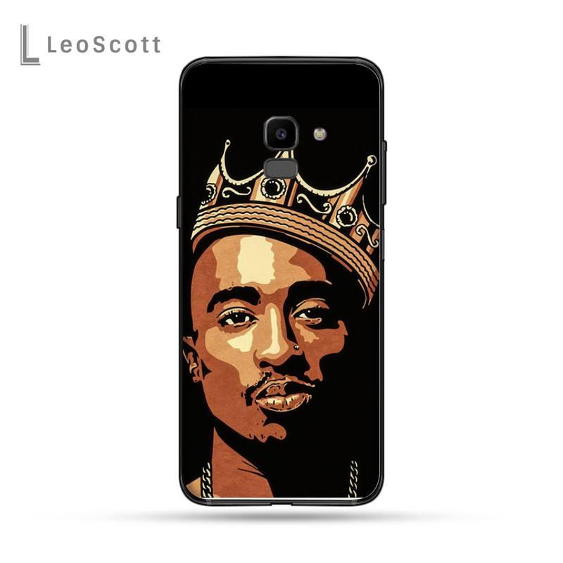 Rapper 2pac Tupac Phone Cases For Samsung Galaxy J2 J4 J5 J6 J7 J8 2016 2017 2018 Prime Pro plus Neo duo