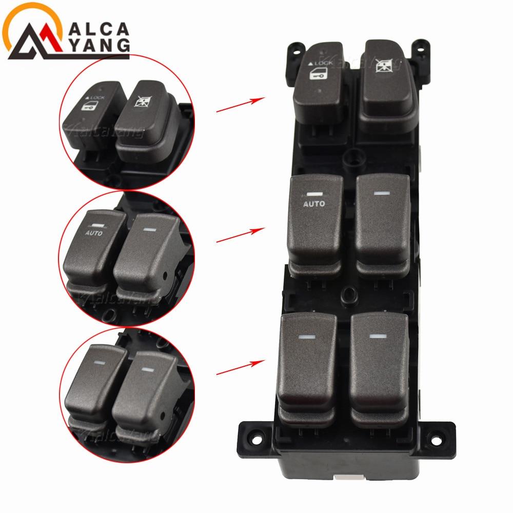 93570-3K600 935703K600 Window Main Switch Button LHD For 08-10 Hyundai NF Sonata
