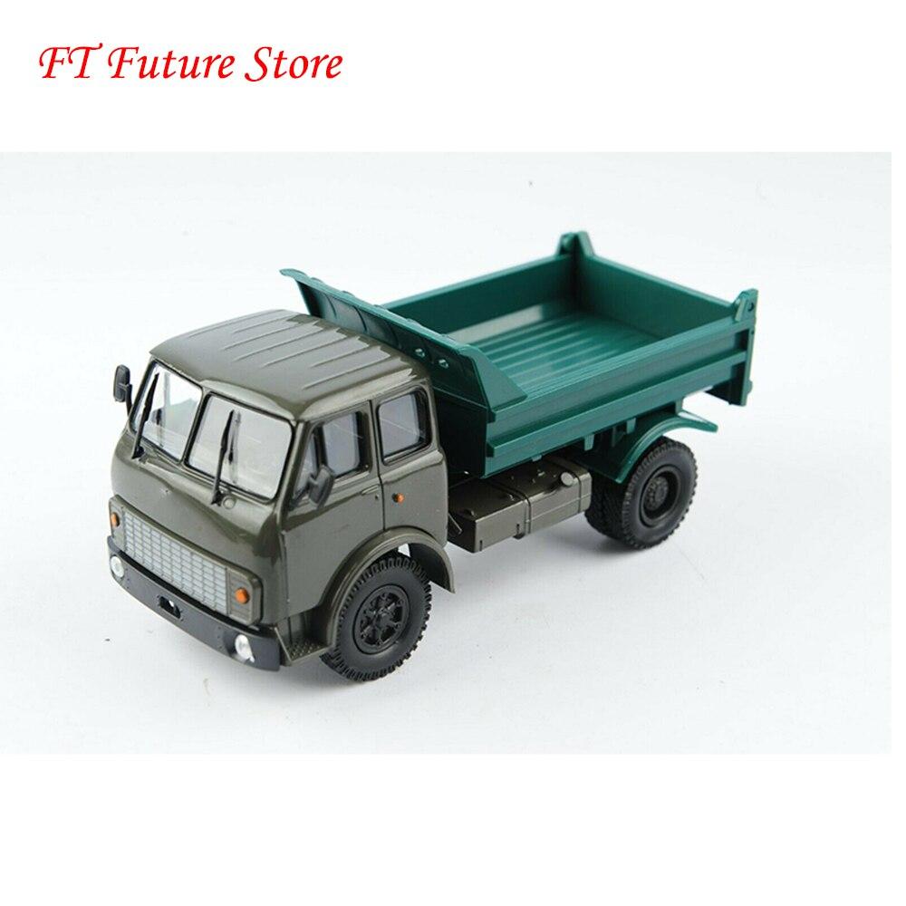 Coleccionable en Stock a escala 143 fundido Kamaz Aleación de MA3-5549 coche camión Rusia HAW vehículos modelo de juguetes para los Fans regalos