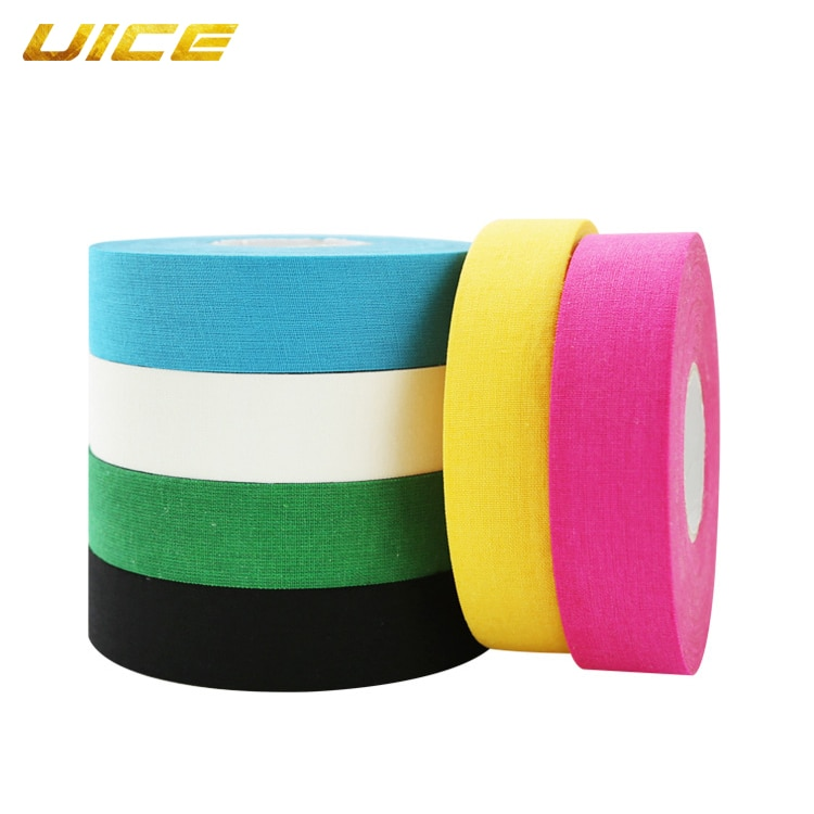 Profesional espesar Hockey sobre hielo cinta adhesiva de seguridad fútbol voleibol rodilleras de baloncesto antideslizante cinta de Golf