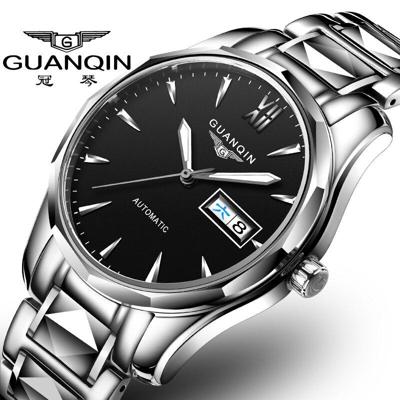 Guanqin-ساعة GJ16065 ، ساعة يد للأعمال ، مقاومة للماء والخدش ، علامة تجارية جديدة ، 2020