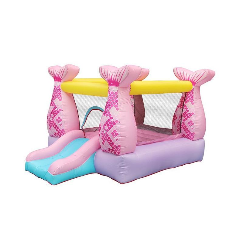 Niños inflables de castillo de juegos al aire libre Infantil diapositivas saltar...