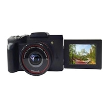 Video Digital Camera Professional 1080P HD 16X Zoom Handheld Anti Shake Camcorders with LCD Screen D