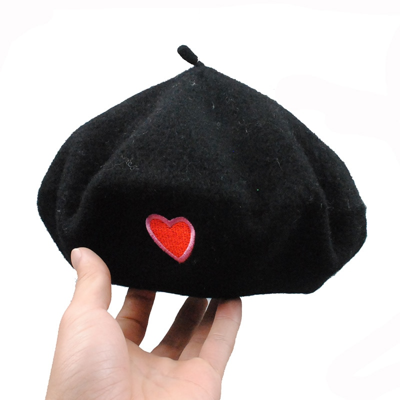 Classic Vintage Women Girls Beret Hats Soft Wool Artist Ivy Hats Warm for Winter Autumn
