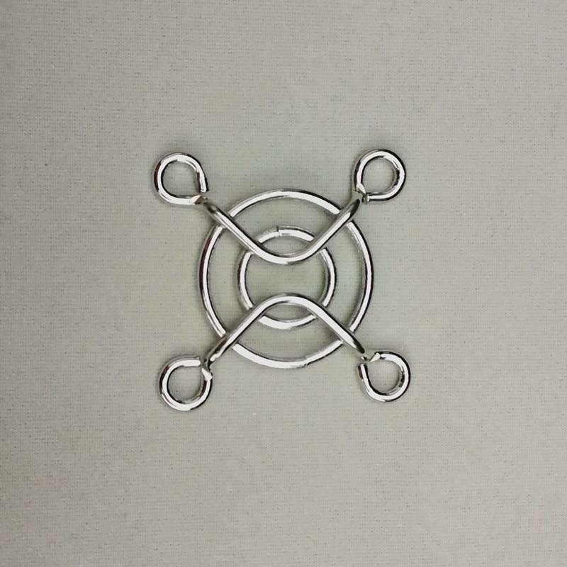 10 Pcs 3cm Fan Iron Net  DC Fan Grill Protector Silver Metal Finger Guard Cover Used for 30mm Raspberry pi  Cooling Fan