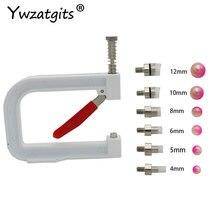 1Set Wulst Maschine Kleidung Perle Perle Niet Handwerk für DIY Stricken Spitze Hut Haar Werkzeuge YJ0244