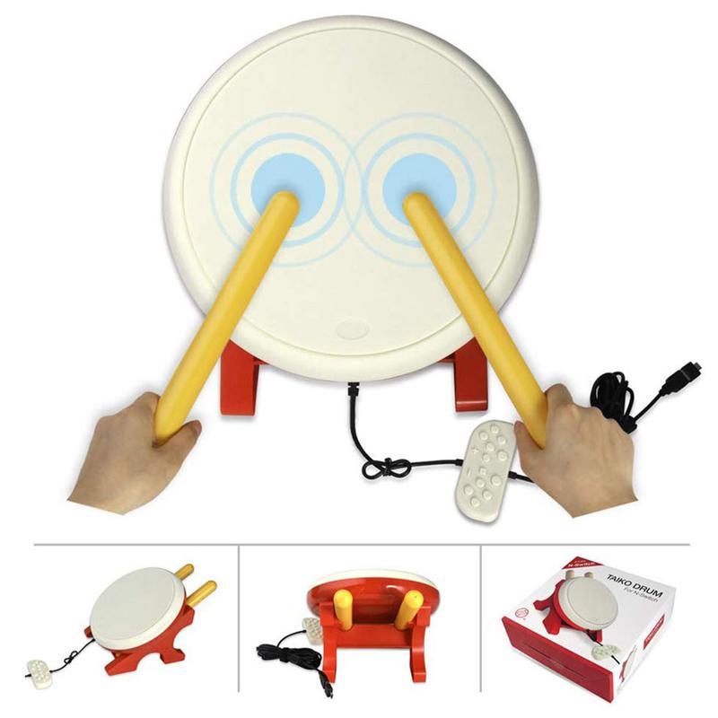 ABKT-tambor Taiko Compatible con N-Interruptor de tambor Taiko palos Video juegos accesorios compatibles con Nintendo