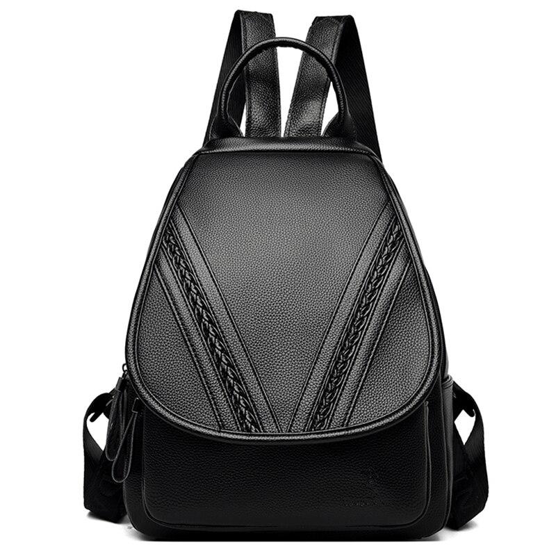 Женские кожаные рюкзаки, высокое качество, винтажный женский рюкзак, сумка для путешествий, рюкзак для девушек