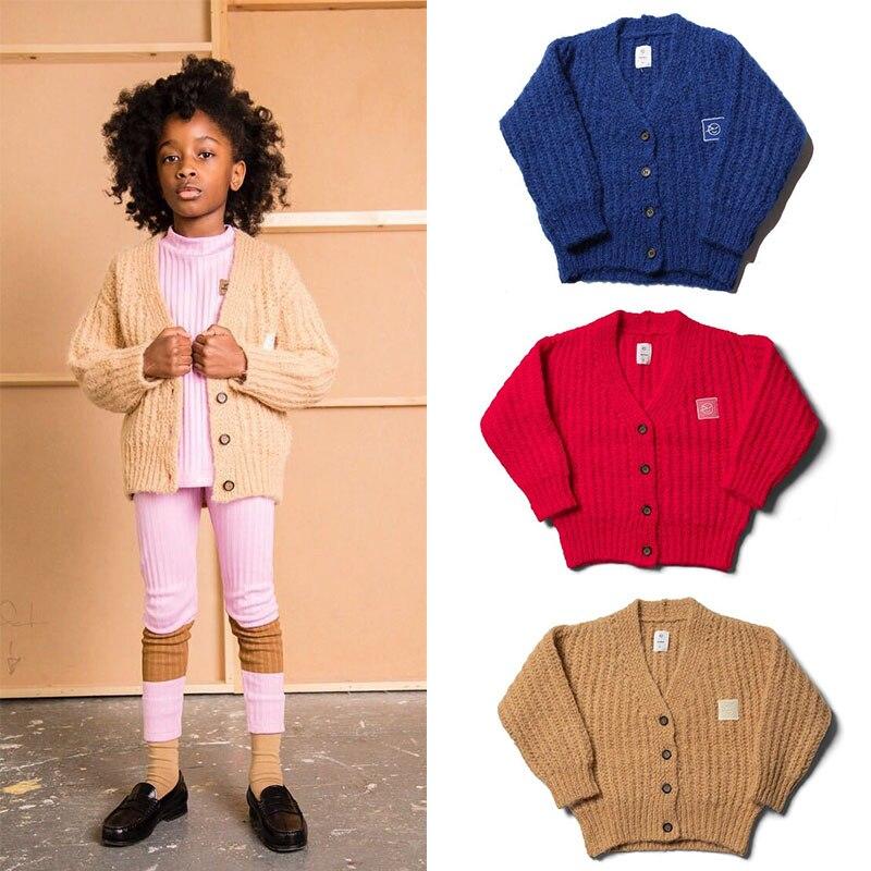 EnkeliBB Wyn-معاطف شتوية محبوكة للأطفال ، ملابس شتوية أنيقة ذات علامة تجارية عصرية للأولاد والبنات