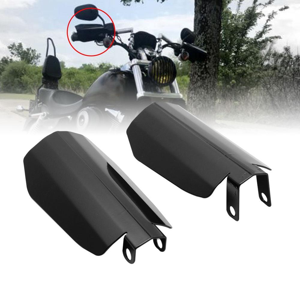 Protector de protección para manija de Motocross, protección para motocicleta, protección para las manos de los parasoles de la motocicleta, para Harley Dyna, accesorios para motocicleta
