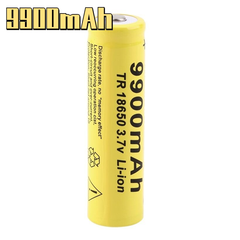 100% original 2021 brand new 3.7V 9900mah 18650 battery GTF lithium ion rechargeable + free shipping