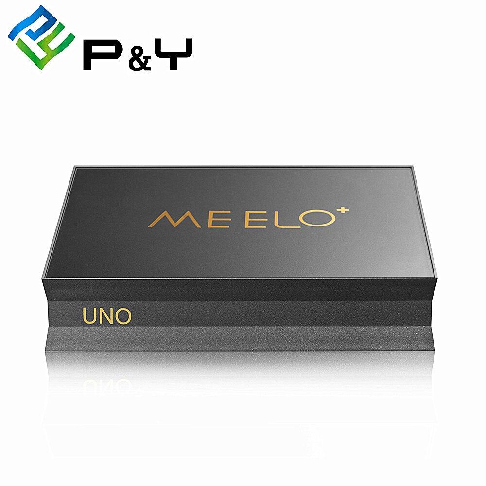 MEELO-مستقبل الأقمار الصناعية Meelo Uno 2 Amlogic S905 رباعي النواة ، Android 5.1 ، DVB S2 T2 ، 64 بت ، 2 جيجابايت من ذاكرة الوصول العشوائي ، 16 جيجابايت Rom ، 4K